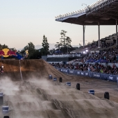 compete at Red Bull Straight Rhythm in Pomona, CA USA on October 21, 2017.