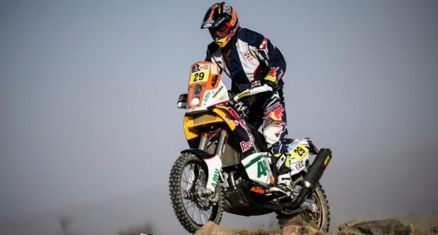 Kurt a gagné deux étapes du Dakar cette année. © DR