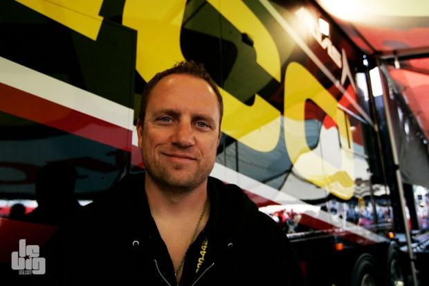 Mike Larocco est le team manager de Geico. © LeBigUSA.com
