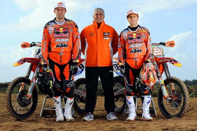 KTM MX1 2013