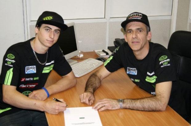 Arnaud Tonus a signé. © Motocrossplanet.nl