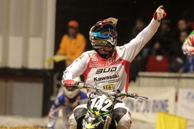 1ère victoire pour Paturel. © Bud Racing