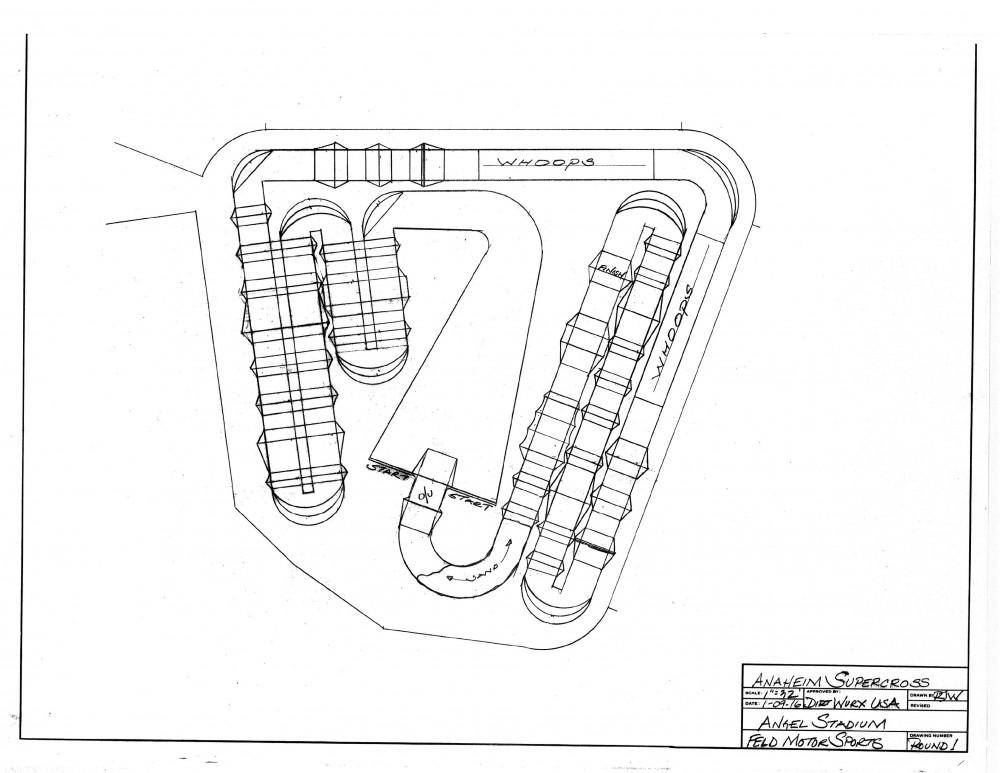 1 Anaheim Track SX 16 nd