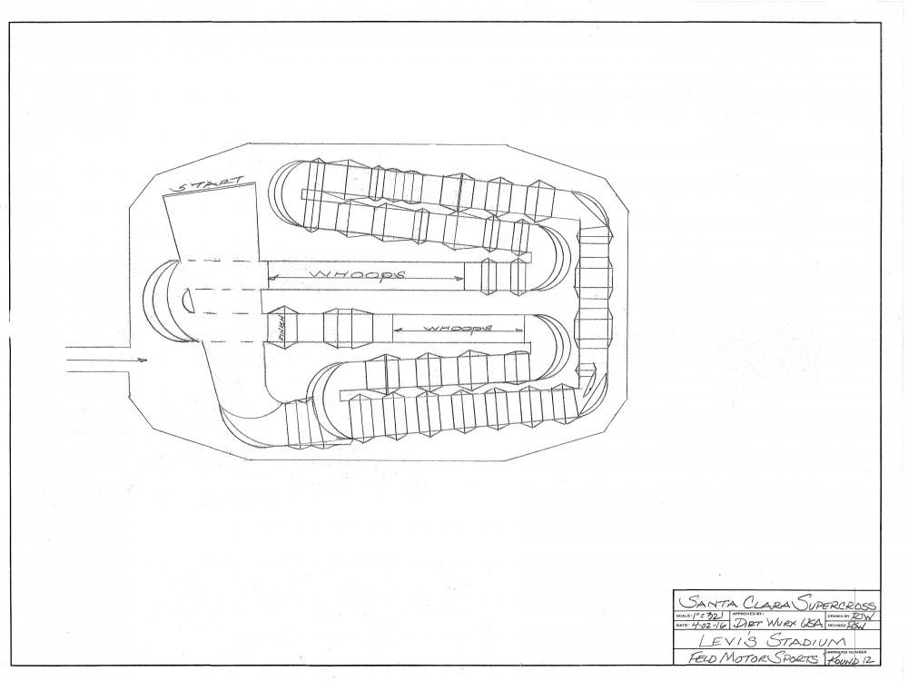 12 Santa Clara Track SX 16nd