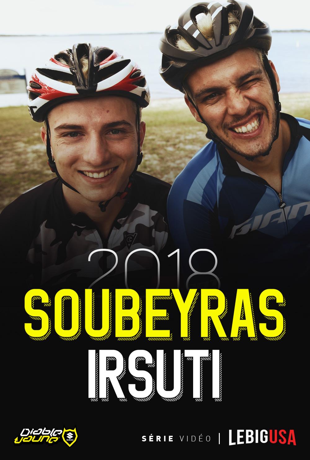 Soubeyras et Yannis en SX US