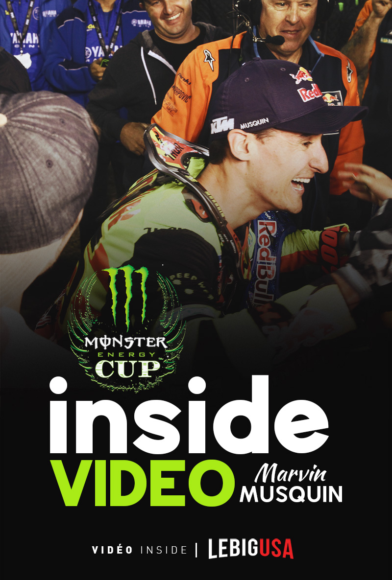 Le million de Marvin Musquin (inside vidéo)